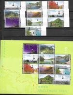 HONG KONG, 2019, MNH, HONG KONG TRAILS, MACLEHOSE TRAIL, MOUNTAINS, TREES, COWS, 10v+SHEETLET - Géologie