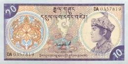 Bhutan 10 Ngultrum, P-15b (1992) - UNC - Bhutan