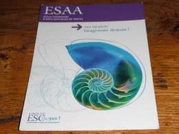 Escargot Nautile ESAA ESC Troyes Carte Publicité  Ecole Supérieure D'arts Appliqués études - Advertising