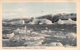 "09756 ""DANIMARCA - GROELLANDIA - FIORDO DI UMANAK""  VEDUTA. CART NON SPED - Greenland"