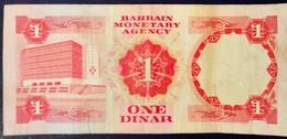 Bahrein Bahrain Moyen Orient Middle East 1973 One Dinar - Bahrein
