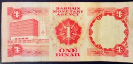Bahrein Bahrain Moyen Orient Middle East 1973 One Dinar - Bahreïn