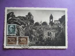 CPA ITALIE SICILE PALERMO CHIOSTRO CHIESA S.GIOVANNI DEGLI EREMITI - Palermo