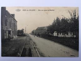 BOIS-DE-VILLERS Une Rue Vers La Station - Profondeville