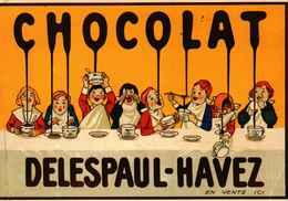 J : CHOCOLAT DELESPAUL-HAVEZ : éditions Clouet - Altri