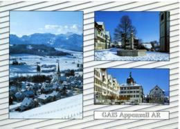 SVIZZERA  SUISSE  AR  GAIS  Appenzell  Multiview - AR Appenzell Rhodes-Extérieures