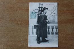 Cpa Petit Metier  Un Vitrier Ambulant    Beau Plan 1905 - Languedoc-Roussillon