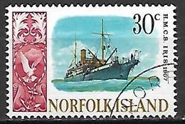 NORFOLK  ISLAND   -   Bateau  /  Iris De 1907  -      Oblitéré - Ile Norfolk