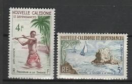 NOUVELLE CALEDONIE 1962 YT N° 303 Et 304 ** - Nouvelle-Calédonie