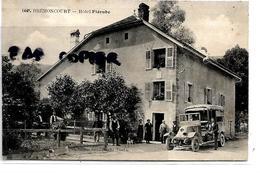 25 BREMONCOURT HOTEL FLEROBE VOITURE - Francia