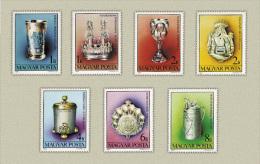 Hungary 1984. Israelite Arts Set MNH (**) Michel: 3718-3724 / 4 EUR - Nuovi