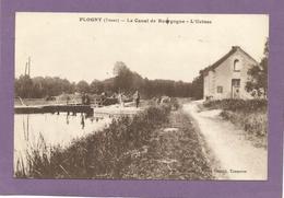 89 FLOGNY-LA-CHAPELLE / Le Canal De Bourgogne / L'Écluse. - Flogny La Chapelle