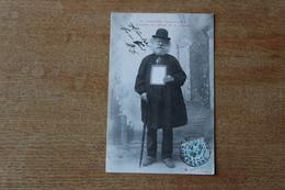 Cpa TOULOUSE  Types De La Rue  L'albinos De L'Eglise  De La Daurade 1906 - Toulouse