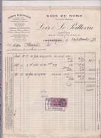 50-Loir & Le Poittevin Scierie Electrique,Bois Du Nord Cherbourg (Manche) 1936 - France