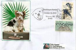Adopt A Pet., Animaux De Compagnie, Chiens & Chats. Wausau, Wisconsin.lettre Adressée En Californie - Hunde