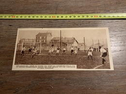 1934 M FOOTBALL VIRY CHATILLON  JUVISY AS CHERBOURG STELLA - Colecciones