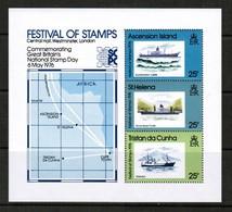 TRISTAN Da CUNHA   Scott # 208a** VF MINT NH Souvenir Sheet (SS-512) - Tristan Da Cunha