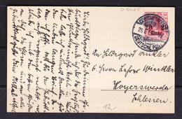 SC 20-65 CONSTANTINOPOL, DEUTSCHE POST. - Covers & Documents