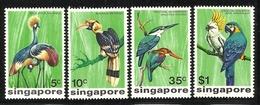 SINGAPORE  1975  BIRDS   SET  MNH/MLH - Non Classés