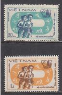 Vietnam 1983 - Jeux Asiatiques, Mi-Nr. 1369/70, MNH** - Vietnam