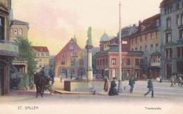 St Gallen Theaterplatz - SG St. Gallen