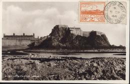 YT 6 Jersey Occupation Allemagne CAD Cheapside Jersey Channel Islands 1944 World War II Carte Maximum Elizabeth Castle - Jersey