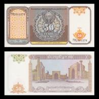 BILLET OUZBÉKISTAN 50 SUM - Ouzbékistan