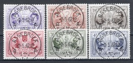 BELGIE: COB 1013/1018  MOOI GESTEMPELD. - Used Stamps