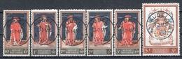 BELGIE: COB 1102/1107  MOOI GESTEMPELD. - Used Stamps