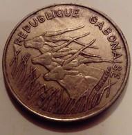 Gabon 1971 100 Francs - Gabón