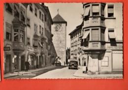 MYF-35 Schaffhausen Vorstadt U. Schwabenturm. Belebt.  Suter 1305 Nicht Gelaufen - SH Schaffhouse