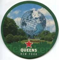 Lote U73, USA, Posavaso, Coaster, Budweiser, Queens, New York - Portavasos