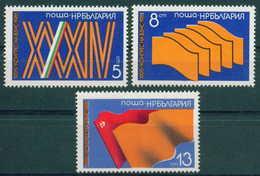 + 3046 Bulgaria 1981 Farmers Union Congress  ** MNH /Kongress Der Bulgarischen Bauernunion (BSNC). Bulgarie Bulgarien - Nuovi