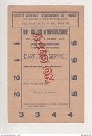 Au Plus Rapide Carte Entrée Salon Aviculture Volaille Parc Exposition Porte Versailles Paris Mars 1952 Peu Courant - Mappe