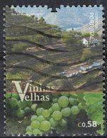 Portugal 2016 Oblitéré Used Vinhas Velhas Vieilles Vignes SU - 1910 - ... Repubblica