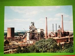Esch Alzette L'industrie Métallurgique Et Ses Silhouettes De Hauts-Fourneaux - Cartes Postales