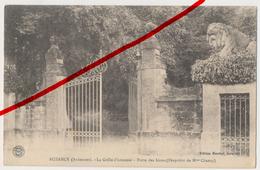 Buzancy (Ardennes) - La Grille D'honneur - Porte Des Lions - Ca. 1910 - Vouziers