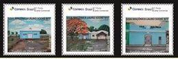 Brazil -   55 Years Masonic Lodge Lauro Sodré - Set 3 - Freemasonry