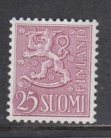 Finland 1959 - Freimarke: Wappenloewe, Mi-Nr. 502, MNH** - Finland
