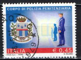 ITALIA - 2004 - CORPO DI POLIZIA PENITENZIARIA - USATO - 2001-10: Usados