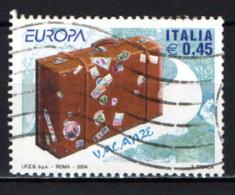 ITALIA - 2004 - EUROPA: VIAGGIARE IN EUROPA - USATO - 2001-10: Usados