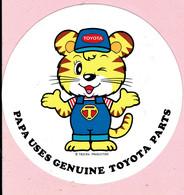 Sticker - TOYOTA - PAPA USES GENUINE TOYOTA PARTS - Stickers