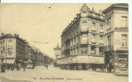 CP.Bruxelles-Schaerbeek (ex-Collection DELOOSE) - Place Du Pavillon + Tram 57 - W0302 - Schaerbeek - Schaarbeek