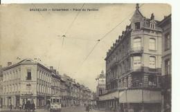 CP.Bruxelles-Schaerbeek (ex-Collection DELOOSE) - Place Du Pavillon + Tram 57 - W0303 - Schaerbeek - Schaarbeek