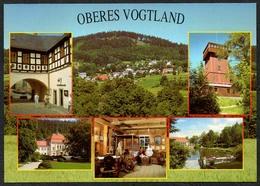 D1871 - TOP Adorf Schönberg Bad Elster Bad Brambach - Verlag Bild Und Heimat Reichenbach Qualitätskarte - Vogtland