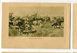 Cossack Kosaken Horse Pferd Cheval Józef Brandt  Russia  Ukraine Ethnic People Vintage Postcard Postkarte Triumph Return - Russie