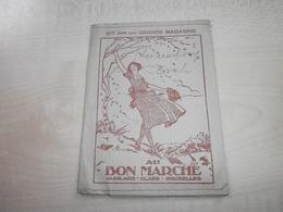 Ancienne Pochette Photos AU BON MARCHE BD DU JARDIN BOTANIQUE BRUXELLES - Vieux Papiers