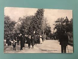 PALERMO GIARDINO INGLESE  MOLTO ANIMATA   1917 - Palermo