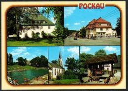 D1884 - TOP Pockau - Verlag Bild Und Heimat Reichenbach Qualitätskarte - Duitsland