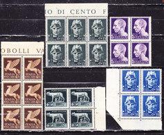 Italia 1929-Imperiale   Fil.  Corona    Nuovi MNH**simili - 1900-44 Vittorio Emanuele III
